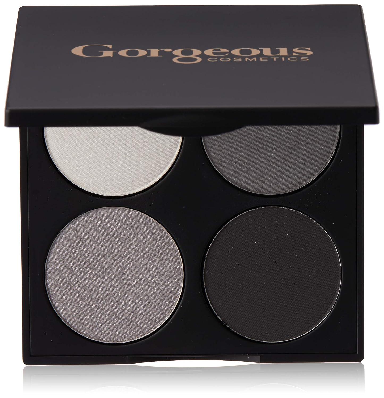 Gorgeous Cosmetics Hollywood Smokey Eyes Palette, 4 shades