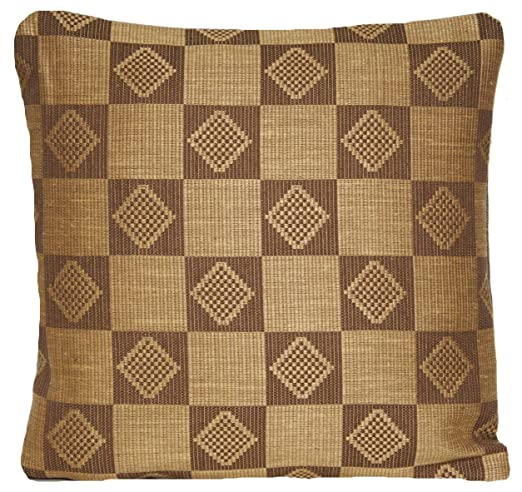 Mostaza PillowThrow decorativo funda para cojín de tela ...
