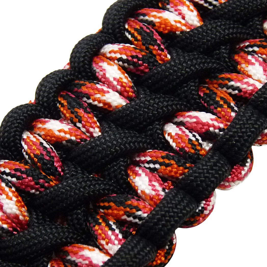MilSpec Paracord Black 55 ft. Hank, Military Survival Braided Parachute 550 Cord. Use with Paracord Tools for Tent Camping, Hiking, Hunting Ropes, Bracelets & Projects. Plus 2 eBooks. by Paracord 550 Mil-Spec (TM) (Image #9)