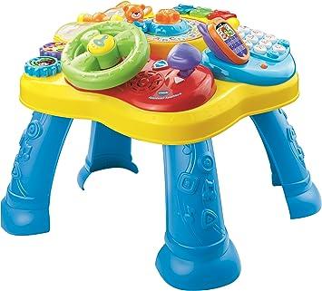 VTech, Mesa de Juegos para bebés, Multicolor (80-181564): Amazon.es: Juguetes y juegos