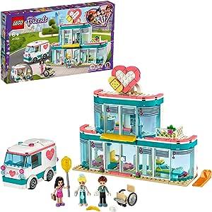 LEGO Friends 41394 Heartlake City Hospital Building Kit (379 Pieces)