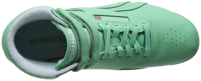 green reebok high tops
