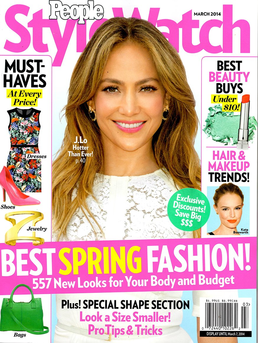 People Stylewatch (March, 2014) Jennifer Lopez Cover PDF