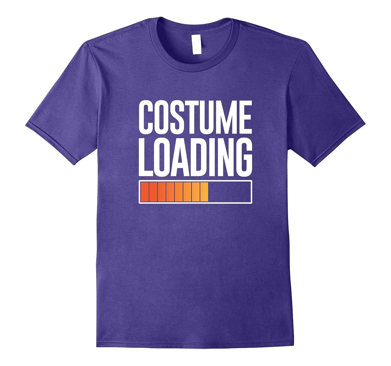 Costume Loading Halloween fun simple October tshirt-ANZ