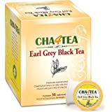 Cha4TEA 36-Count Earl Grey Tea K Cups for Keurig K-Cup