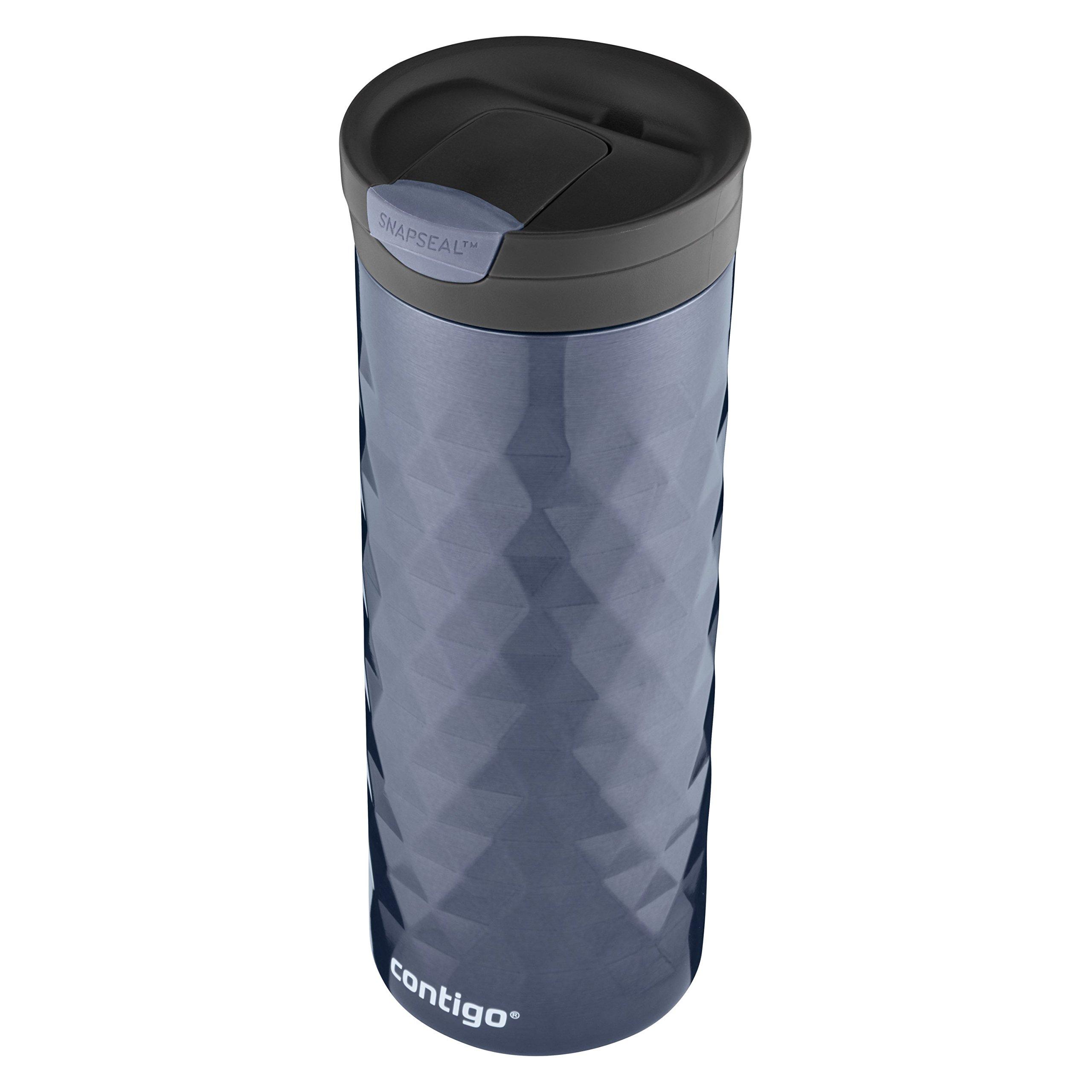 Contigo SnapSeal Kenton Stainless Steel Travel Mug, 20 oz, Serenity by Contigo (Image #3)