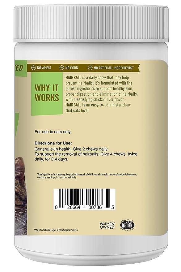 Amazon.com: Pet Naturals de VT Hairball Suplementos para ...