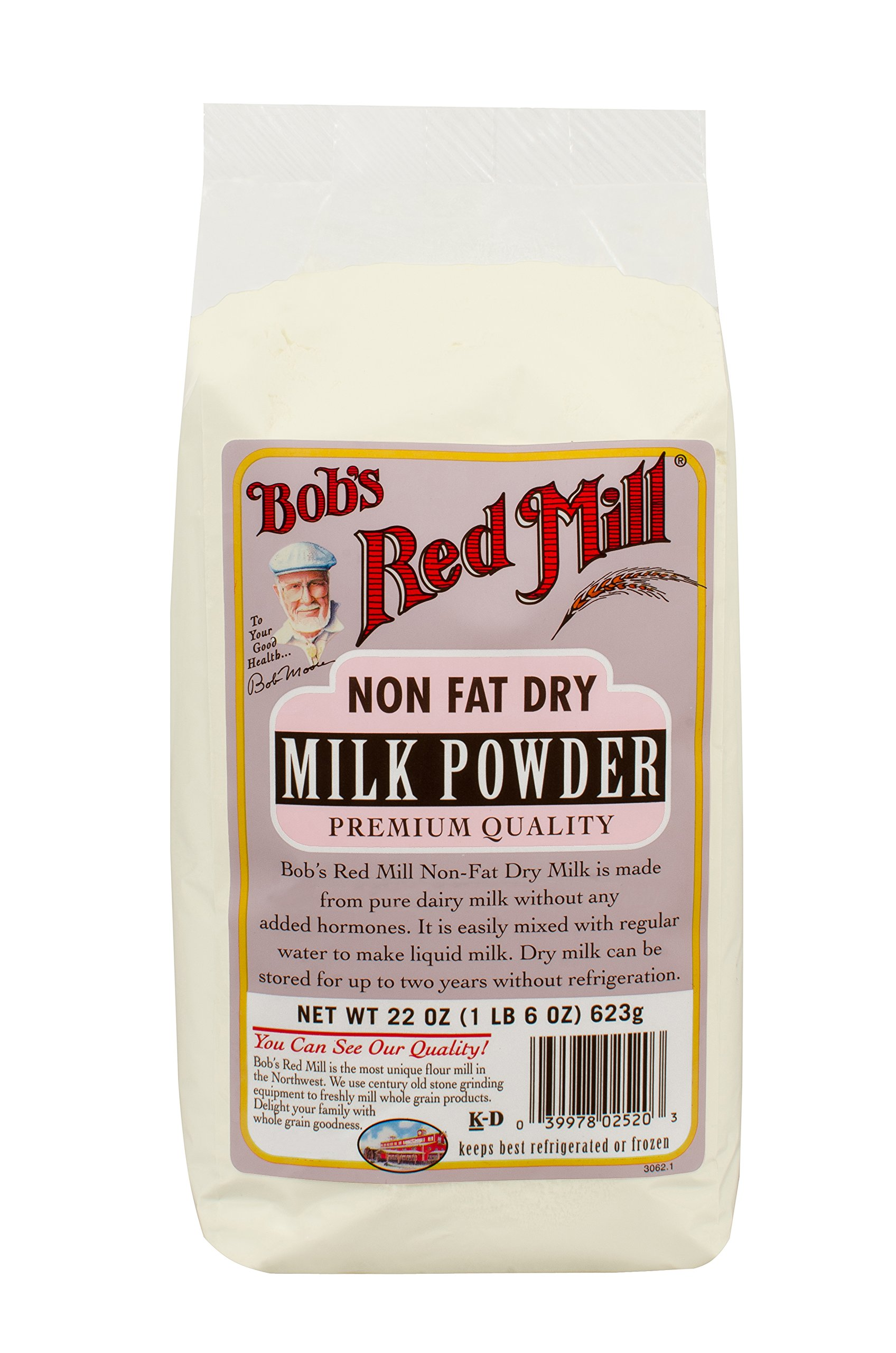 Bob's Red Mill Non Fat Dry Milk Powder, 22-ounce (Pack of 4) by Bob's Red Mill