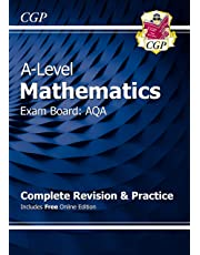 New A-Level Maths for AQA: Year 1 & 2 Complete Revision & Practice with Online Edition (CGP A-Level Maths 2017-2018)