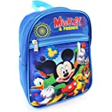 """Mickey Mouse Boys Kids Toddler Preschool Mini Backpack Baby 10"""""""