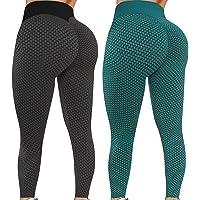 $30 » Reosse Leggings for Women - 2 Pack High Waist Yoga Pants for Women