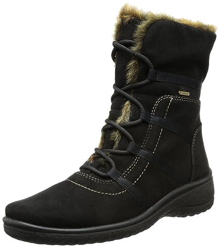 bf5a86c5daac98 ARA München-St-Gor-Tex, Bottes de Ski Femme: Amazon.fr: Chaussures ...