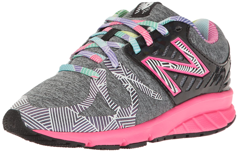 New Balance Kids 200v1 Fashion Sneaker B01M026SZO 6 M US Big Kid|Black 1/Multi