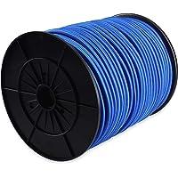 Azul 6 Mm-50 Mt Corderie Italiane 6005124-00 El/ástico Braid