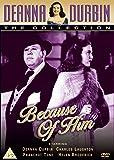 Deanna Durbin - Because Of Him [DVD] [1946]
