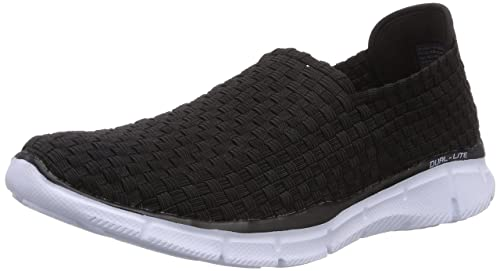 Skechers Equalizer Familiar, Men's Fitness Shoes, Black (Black Black), 12 UK