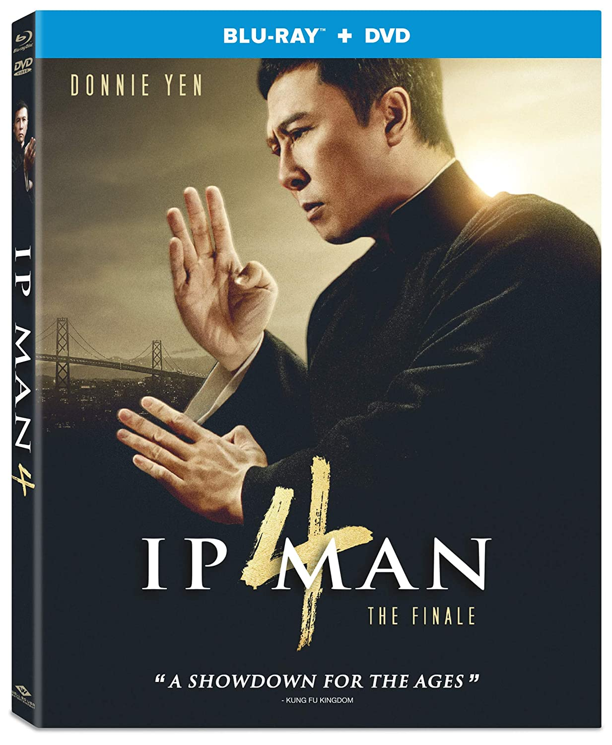 Amazon Com Ip Man 4 The Finale Blu Ray Dvd Donnie Yen Scott Adkins Wu Yue Wilson Yip Movies Tv