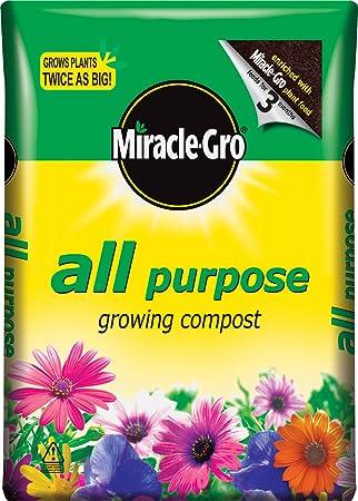 Scotts Miracle-Gro All Purpose - Compostador para flores, 50 l: Amazon.es: Jardín