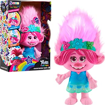 DreamWorks Trolls Colorful And Interactive Poppy