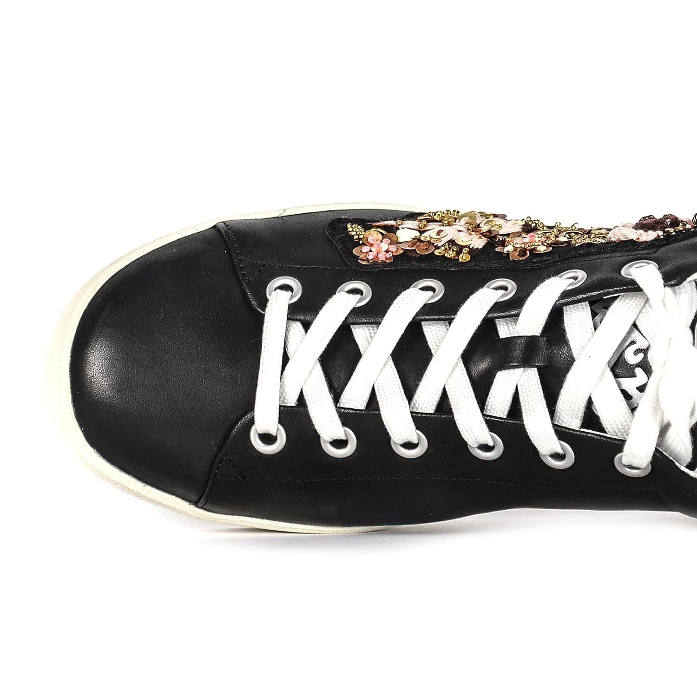 ASH Damen Footwear Schuhe Naoki Turnschuhe Aus Leder Schwarz Damen ASH ccabef