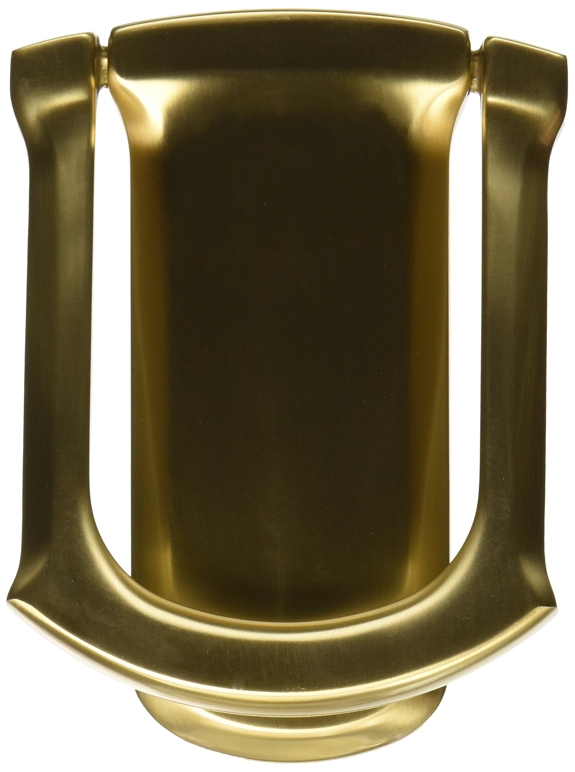 Baldwin 0105033 Tahoe Door Knocker, Vintage Brass by Baldwin (Image #1)