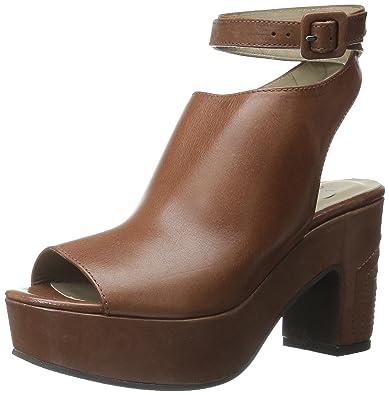 55cc72fd0aee Amazon.com  Delman Women s D-Daisy-V Platform Sandal  Shoes