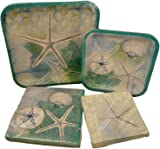 Beach Vacation Theme Paper Plates and Napkins - Bundle of Four Items 2 Packs Paper Plates  sc 1 st  Amazon.com & Amazon.com: Beach Summer Time Party Pack- 2 Packs Paper Plates and 2 ...