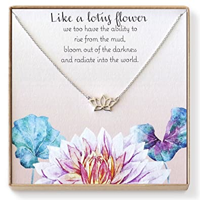 Amazon lotus necklace lotus flower necklace lotus jewelry lotus necklace lotus flower necklace lotus jewelry yoga necklace yoga jewelry mightylinksfo