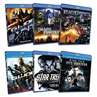 6 Blockbuster Hits Pack [Star Trek / Transformers / G.I. Joe] [Blu-ray]