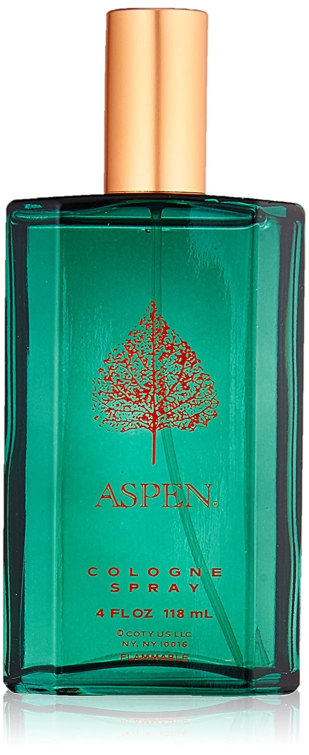 Coty Aspen Cologne Spray for Men, 4 Fluid Ounce GA1439254 36312