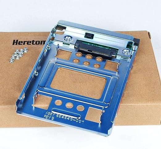 Heretom Soporte Adaptador Bandejas de disco duro SATA y SSD de 2,5 ...