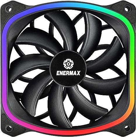 Enermax SquA RGB Carcasa del Ordenador Ventilador - Ventilador de ...