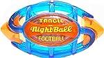 TANGLE NightBall Glow in The Dark Light Up LED Football, Large,