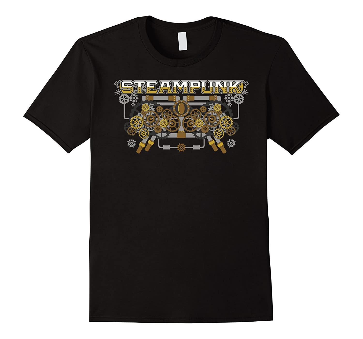 Steampunk Mechanical Gear Machine T-shirt