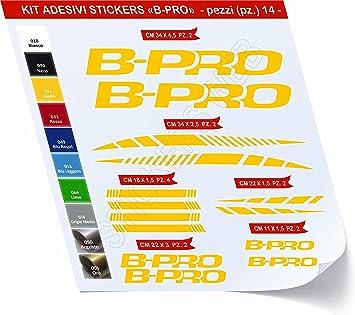 Pegatinas Bicicleta B-Pro BPRO Kit Pegatinas Stickers 14 piezas ...