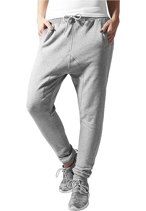 Ladies Deep Crotch Sweatpant Urban Classics Streetwear Pantalón de ...