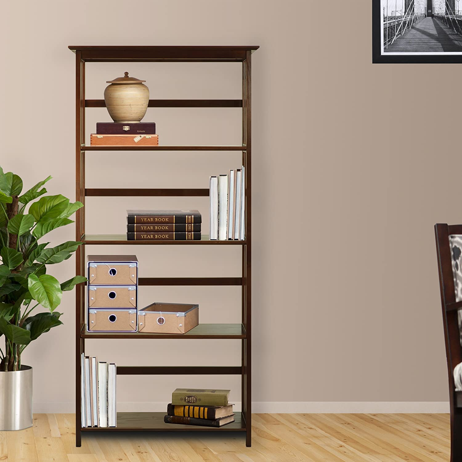 mission craftsman bookcase manchester furniture style wood collections