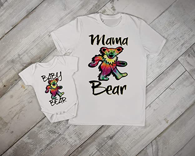 34526a301 Grateful Dead Mama and Baby Matching Set Onesie ... - Amazon.com