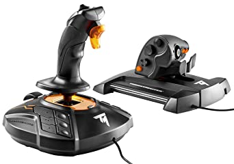 Thrustmaster T.16000M FCS HOTAS Controller Flight Controls at amazon