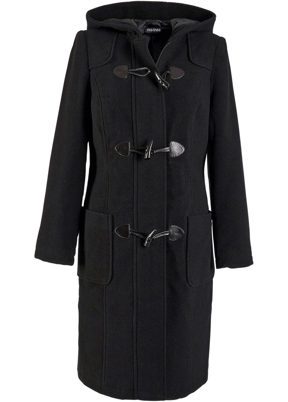932738d2d5313 bpc bonprix collection - Cappotto - Montgomery - Donna Anthrazit 46   Amazon.it  Abbigliamento