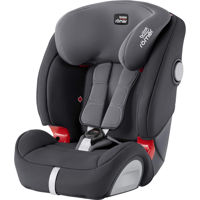 Britax Römer Kindersitz 9 Monate 12 Jahre I 9 36 Kg I Evolva 123 Sl Sict Autositz Isofix Gruppe 1 2 3 I Storm Grey Baby