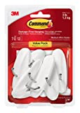 Amazon Price History for:Command Wire Hooks Value Pack, Medium, White, 7-Hooks (17068-7ES)