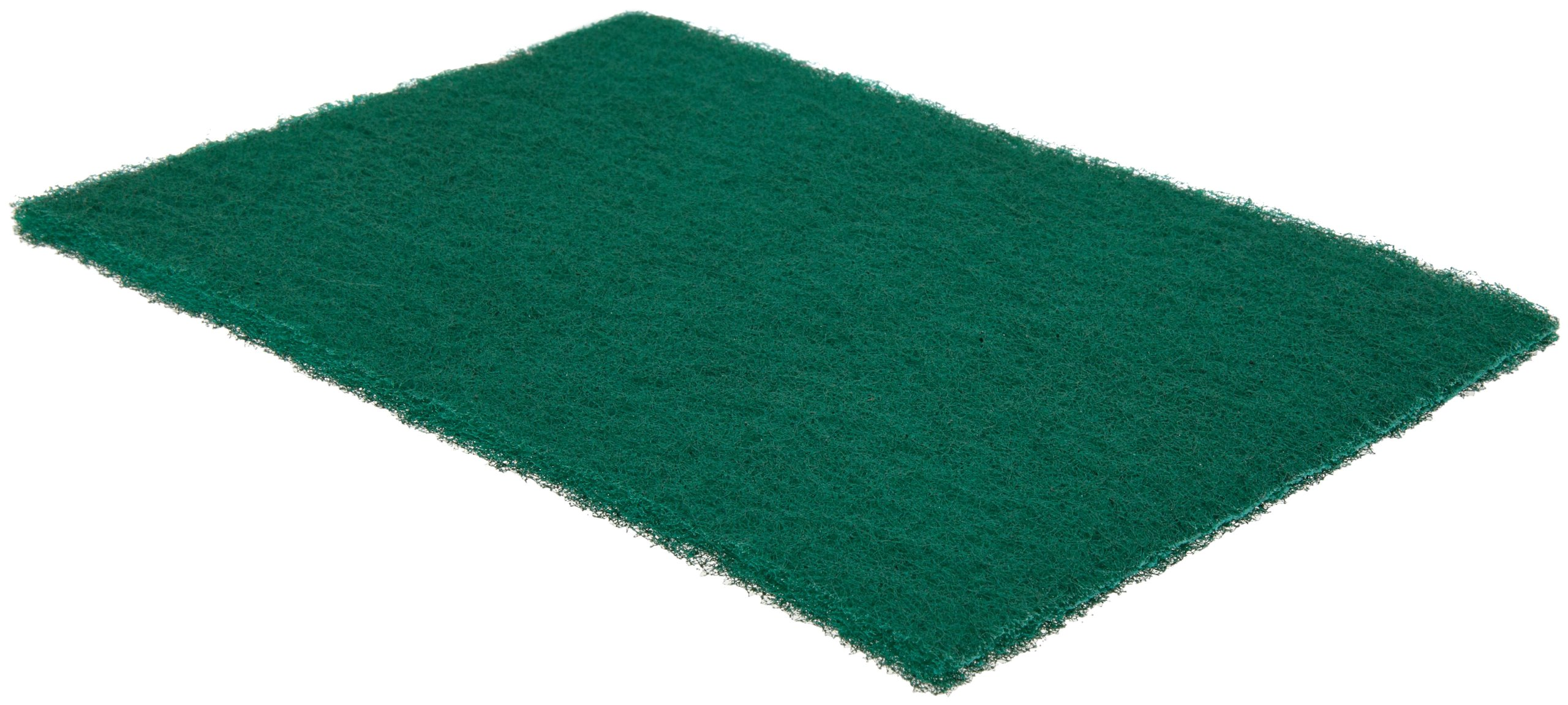 Norton Bear-Tex Scouring Non-Woven Abrasive Hand Pad, Good Performance, Green Color, Aluminum Oxide, Grit Very Fine (Pack of 60)