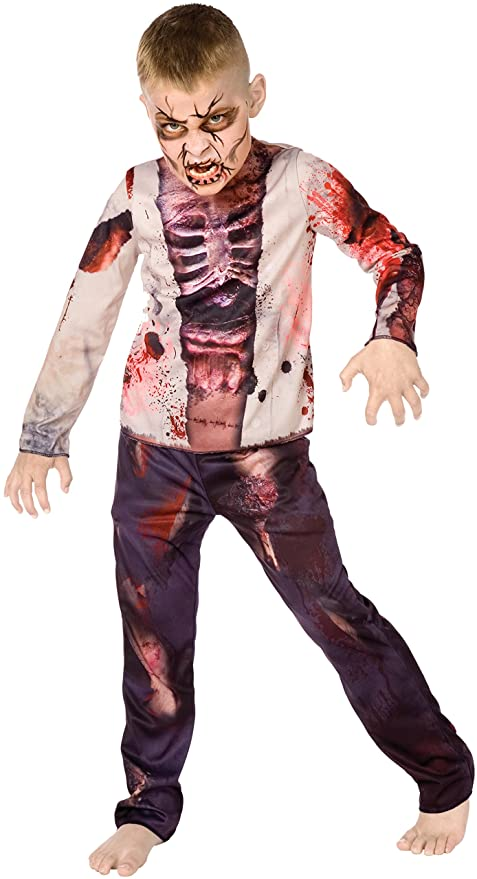 Big Boys\u0027 Boy Zombie Costume , M