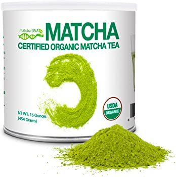 Matcha DNA 1LB Certified Organic Matcha Green Tea Powder