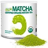 MatchaDNA 1 LB Certified Organic Matcha Green Tea Powder (16 OZ TIN CAN)