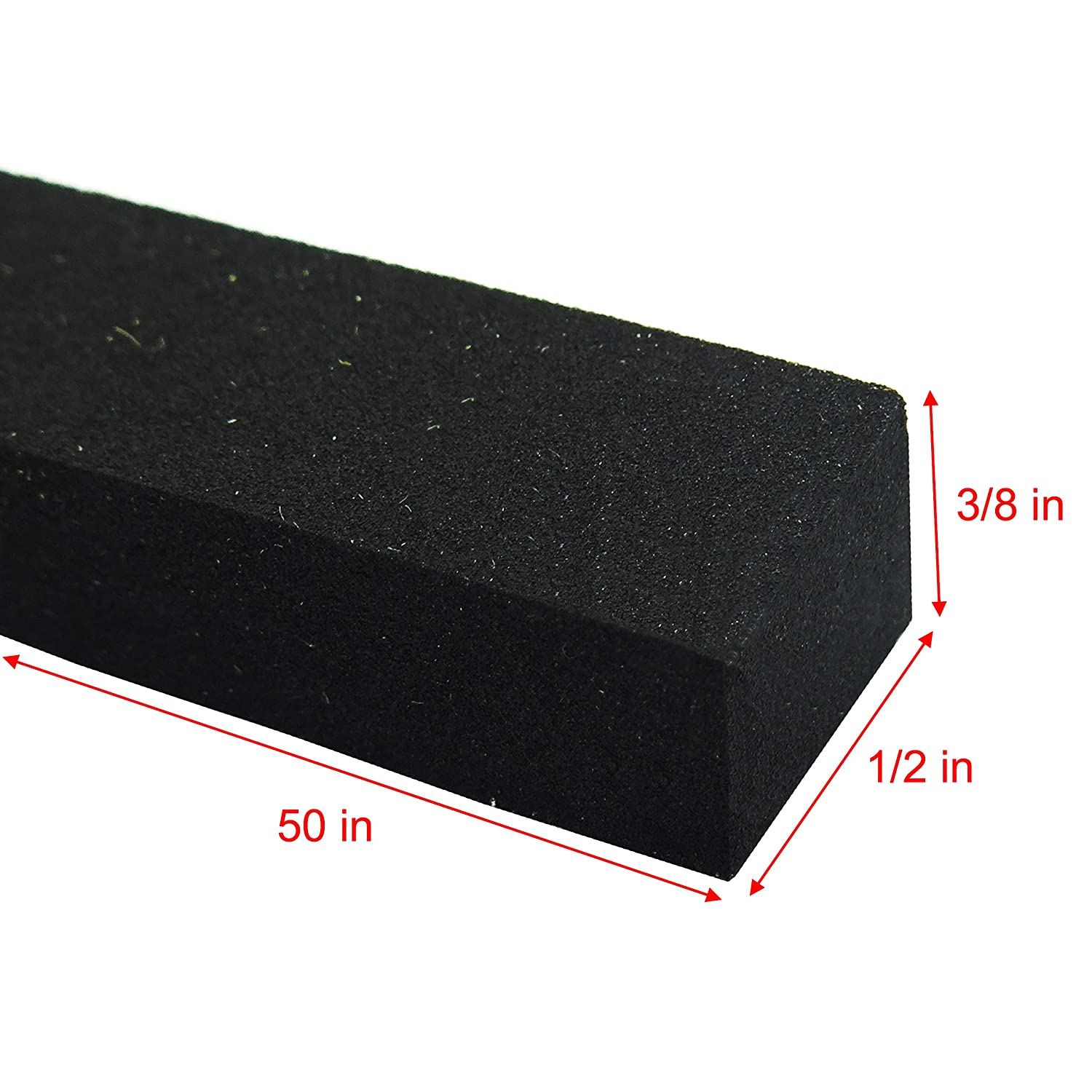 Self Adhesive Weather Stripping Insulation Roll LAZY DOG WAREHOUSE LDW241 1in x 3//4in x 32ft Neoprene Sponge Rubber Foam Tape