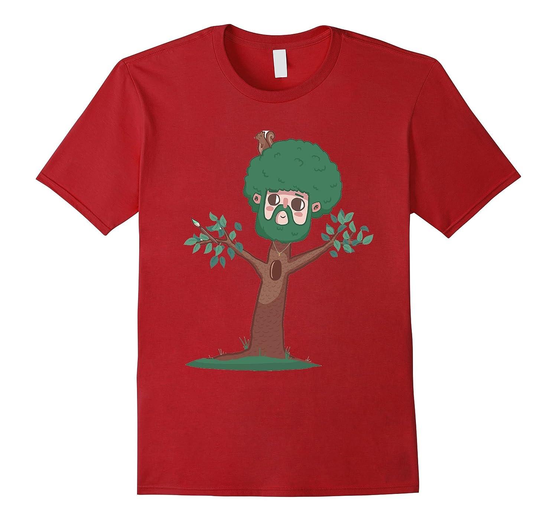 A Happy Little Bob Ross Shirt-RT