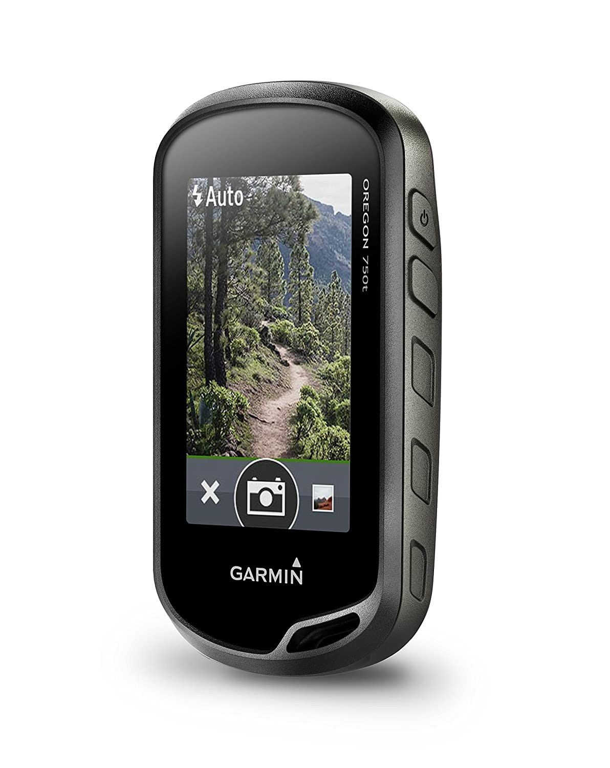 Grey Garmin Oregon 750 Handheld GPS with Built-In Wi-Fi and 8 MP Camera Black
