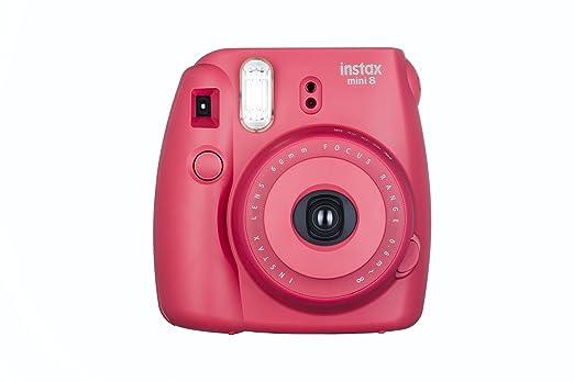 769 opinioni per Fujifilm Instax Mini 8 Fotocamera Istantanea per Foto Formato 62x46 mm, Lampone